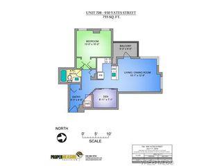 Photo 18: 708 930 Yates Street in VICTORIA: Vi Downtown Condo Apartment for sale (Victoria)  : MLS®# 368689