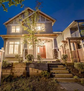 Photo 1: 1382 E 17TH Avenue in Vancouver: Knight House 1/2 Duplex for sale (Vancouver East)  : MLS®# R2115245