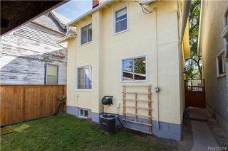 Photo 18: 922 Sherburn Street in Winnipeg: West End Residential for sale (5C)  : MLS®# 1724078