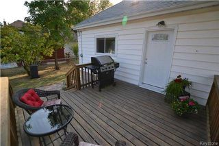 Photo 18: 313 Hampton Street in Winnipeg: St James Residential for sale (5E)  : MLS®# 1724191