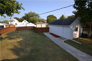 Photo 19: 313 Hampton Street in Winnipeg: St James Residential for sale (5E)  : MLS®# 1724191