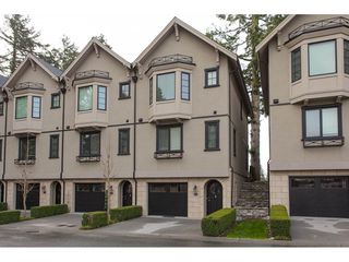 "Photo 1: 629 2580 LANGDON Street in Abbotsford: Abbotsford West Townhouse for sale in ""The Brownstones"" : MLS®# R2254528"