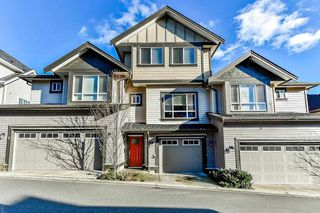 "Photo 1: 5 19938 70TH Avenue in Langley: Willoughby Heights Townhouse for sale in ""summerhill"" : MLS®# R2329344"