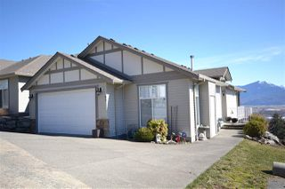 "Main Photo: 89 8590 SUNRISE Drive in Chilliwack: Chilliwack Mountain Townhouse for sale in ""Maple Hills"" : MLS®# R2341370"