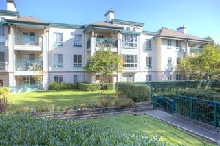 "Photo 1: 206 19528 FRASER Highway in Surrey: Cloverdale BC Condo for sale in ""The Fairmont"" (Cloverdale)  : MLS®# R2413564"