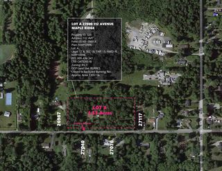 Main Photo: LOT A 27000BL 112 Avenue in Maple Ridge: Whonnock Land for sale : MLS®# R2505305