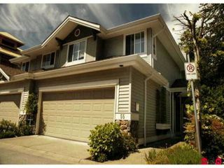 Photo 1: 55 6950 120TH Street in Surrey: West Newton Townhouse for sale : MLS®# F1126556