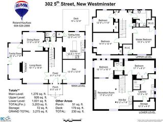 Photo 2: 302 FIFTH Street in New Westminster: Queens Park House for sale : MLS®# V1044865