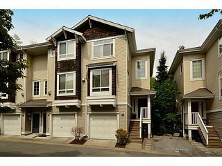 "Photo 1: 34 15030 58 Avenue in Surrey: Sullivan Station Townhouse for sale in ""Summerleaf"" : MLS®# F1440601"