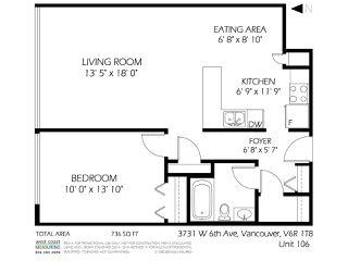 "Photo 19: 106 3731 W 6TH Avenue in Vancouver: Point Grey Condo for sale in ""Aston Villa"" (Vancouver West)  : MLS®# R2060928"