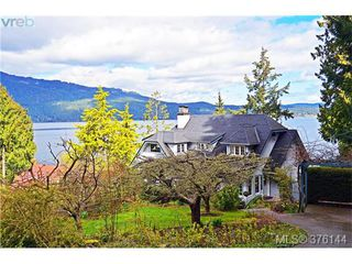 Photo 1: 1348 Lands End Road in NORTH SAANICH: NS Lands End Single Family Detached for sale (North Saanich)  : MLS®# 376144
