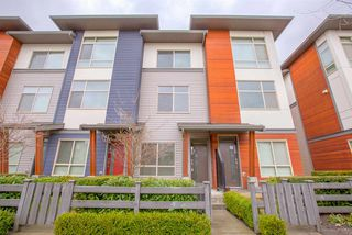 "Main Photo: 65 8473 163 Street in Surrey: Fleetwood Tynehead Townhouse for sale in ""THE ROCKWOODS"" : MLS®# R2234826"