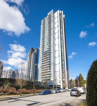 "Photo 1: 606 1178 HEFFLEY Crescent in Coquitlam: North Coquitlam Condo for sale in ""Obelisk"" : MLS®# R2279492"