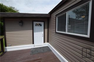 Photo 18: 8 CEDAR Crescent in St Clements: Pineridge Trailer Park Residential for sale (R02)  : MLS®# 1820053