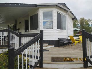 Main Photo: 16016A TWP RD 542A: Rural Yellowhead Manufactured Home for sale : MLS®# E4147343