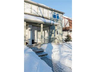 Photo 1: 69 Apple Lane in WINNIPEG: Westwood / Crestview Condominium for sale (West Winnipeg)  : MLS®# 1500269