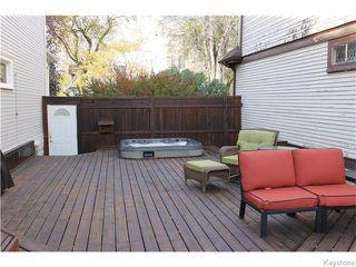 Photo 20: 748 Westminster Avenue in Winnipeg: Wolseley Residential for sale (5B)  : MLS®# 1626001