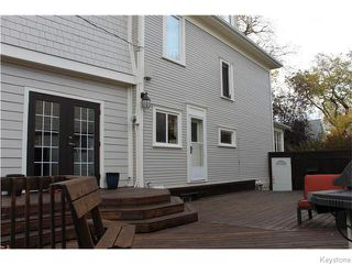 Photo 2: 748 Westminster Avenue in Winnipeg: Wolseley Residential for sale (5B)  : MLS®# 1626001