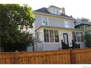 Photo 1: 748 Westminster Avenue in Winnipeg: Wolseley Residential for sale (5B)  : MLS®# 1626001