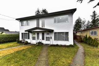 Photo 1: 484 MUNDY Street in Coquitlam: Central Coquitlam 1/2 Duplex for sale : MLS®# R2142692