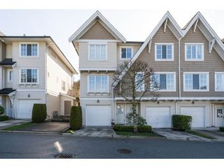 "Photo 1: 18 20560 66 Avenue in Langley: Willoughby Heights Townhouse for sale in ""Amberleigh"" : MLS®# R2155248"