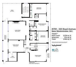 """Photo 18: 1701 320 ROYAL Avenue in New Westminster: Downtown NW Condo for sale in """"THE PEPPER TREE"""" : MLS®# R2196193"""