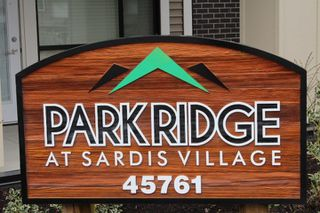 "Photo 2: 310 45761 STEVENSON Road in Sardis: Sardis East Vedder Rd Condo for sale in ""Park Ridge"" : MLS®# R2254826"
