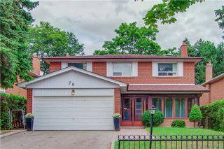 Main Photo: 70 Bestview Drive in Toronto: Bayview Woods-Steeles House (2-Storey) for sale (Toronto C15)  : MLS®# C4242361
