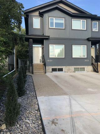 Main Photo: 12430 125 Street NW in Edmonton: Zone 04 House Half Duplex for sale : MLS®# E4130264