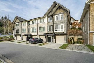 "Photo 1: 46 1305 SOBALL Street in Coquitlam: Burke Mountain Townhouse for sale in ""Burke Mountain - Tyneridge"" : MLS®# R2329992"
