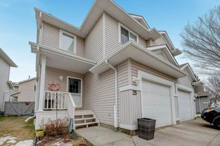 Photo 1: 25 4020 21 Street in Edmonton: Zone 30 House Half Duplex for sale : MLS®# E4148935