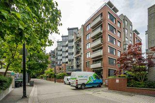"""Photo 1: 110 2228 MARSTRAND Avenue in Vancouver: Kitsilano Condo for sale in """"SOLO"""" (Vancouver West)  : MLS®# R2466105"""