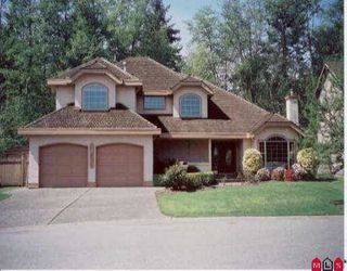 "Photo 1: 14831 83RD AV in Surrey: Bear Creek Green Timbers House for sale in ""SHAUNESSY ESTATES"" : MLS®# F2509103"