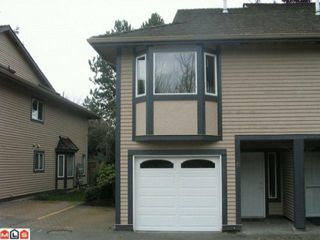 Photo 1: 15 1828 LILAC Drive in Surrey: King George Corridor Townhouse for sale (South Surrey White Rock)  : MLS®# F1106132