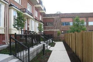 Photo 1: 42 Raffeix Lane in Toronto: Regent Park House (3-Storey) for lease (Toronto C08)  : MLS®# C3157736