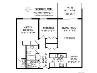 Photo 11: 103 955 Dingley Dell in VICTORIA: Es Kinsmen Park Condo for sale (Esquimalt)  : MLS®# 746530