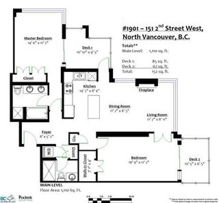 Photo 20: 1901 151 W 2ND STREET in North Vancouver: Lower Lonsdale Condo for sale : MLS®# R2219642