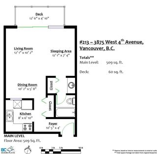 "Photo 20: 213 3875 W 4TH Avenue in Vancouver: Point Grey Condo for sale in ""LANDMARK JERICHO"" (Vancouver West)  : MLS®# R2225317"
