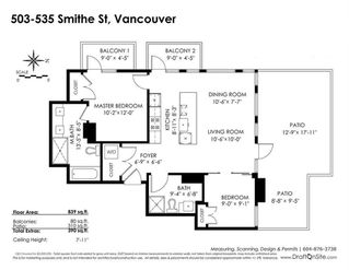 "Photo 2: 503 535 SMITHE Street in Vancouver: Downtown VW Condo for sale in ""DOLCE"" (Vancouver West)  : MLS®# R2261300"