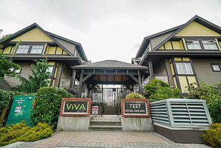 "Photo 1: 102 7227 ROYAL OAK Avenue in Burnaby: Metrotown Townhouse for sale in ""VIVA"" (Burnaby South)  : MLS®# R2302097"