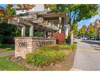 "Photo 1: 13 15065 58 Avenue in Surrey: Sullivan Station Townhouse for sale in ""Springhill"" : MLS®# R2316350"