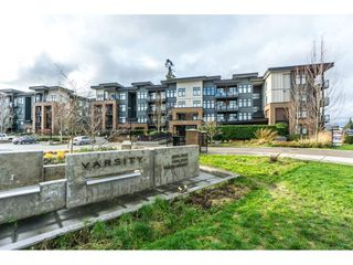 "Photo 1: 312 20058 FRASER Highway in Langley: Langley City Condo for sale in ""Varsity"" : MLS®# R2328896"