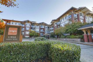 "Main Photo: 208 11950 HARRIS Road in Pitt Meadows: Central Meadows Condo for sale in ""origin"" : MLS®# R2335243"