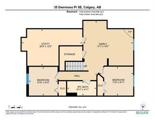 Photo 34: 35 DEERMOSS Place SE in Calgary: Deer Run Detached for sale : MLS®# C4233869