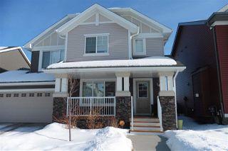 Main Photo: 1013 162 Street in Edmonton: Zone 56 House Half Duplex for sale : MLS®# E4187413