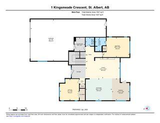 Photo 49: 1 KINGSMEADE Crescent: St. Albert House for sale : MLS®# E4193429