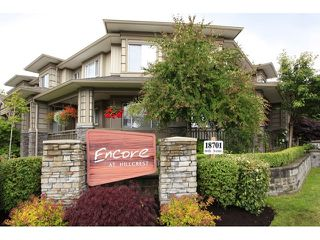 Photo 1: 35 18701 66 Avenue in Cloverdale: Condo for sale : MLS®# F1223519 New