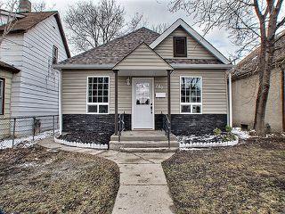 Photo 1: 180 Chalmers Avenue in Winnipeg: East Kildonan Residential for sale (North East Winnipeg)  : MLS®# 1307918