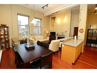 """Photo 4: 307 549 COLUMBIA Street in New Westminster: Downtown NW Condo for sale in """"C2C LOFTS AND FLATS"""" : MLS®# V1036506"""