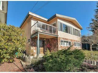 Photo 1: 945 DELESTRE Avenue in Coquitlam: Maillardville House 1/2 Duplex for sale : MLS®# V1050049